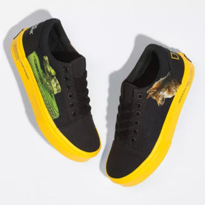 Vans X National Geographic Kids Old Skool Shoes Footwear Vans