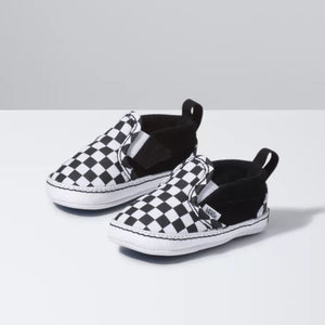 VN0A2XSLFB7 Vans - Checker Black Crib Shoe (Toddler 1 - Toddler 4) footwear Vans