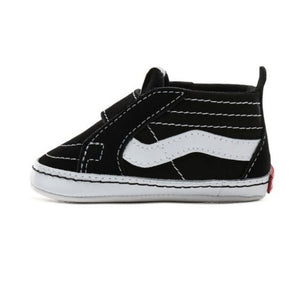 VN0A346P6BT Vans - SK8-Hi Crib Shoes - Black & True White (Toddler 1 - Toddler 4) footwear Vans