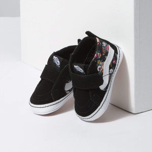 VN0A346PSRO Vans - SK8-Hi Crib Shoes - Butterfly Floral (Toddler 1 - Toddler 4) footwear Vans