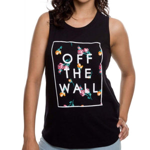 VN0A3ULABLK - Vans - Women's Lock Box Tank Top - Black Tank Top Vans Women's XS