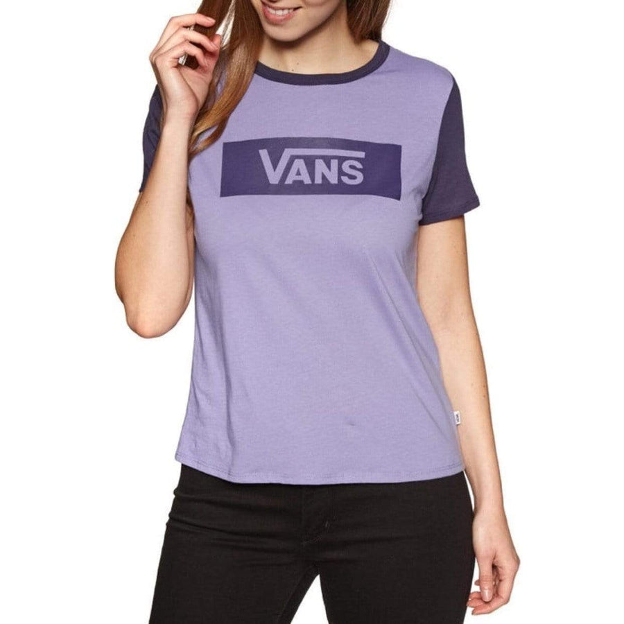 VN0A3ULLUVV - Vans - Women's V Tangle Range Ringer T-Shirt Short Sleeve Shirt Vans Women's XS