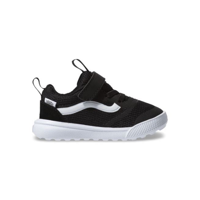VN0A3WLM6BT Vans - Kids UltraRange Rapidweld Running Shoe - Black (Sizes Toddler 3 - Kids 10) footwear Vans