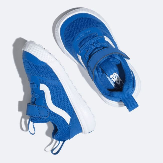 VN0A3WLMVJI Vans - Kids UltraRange Rapidweld Running Shoe - Lapis Blue (Sizes Toddler 4 - Kids 10) footwear Vans