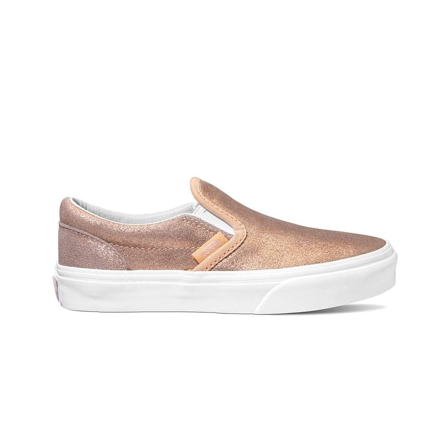 VN0A4BUTT61 VANS - Classic Slip On Shoe - Rose Gold (Kids 10.5 - Youth 5) footwear Vans
