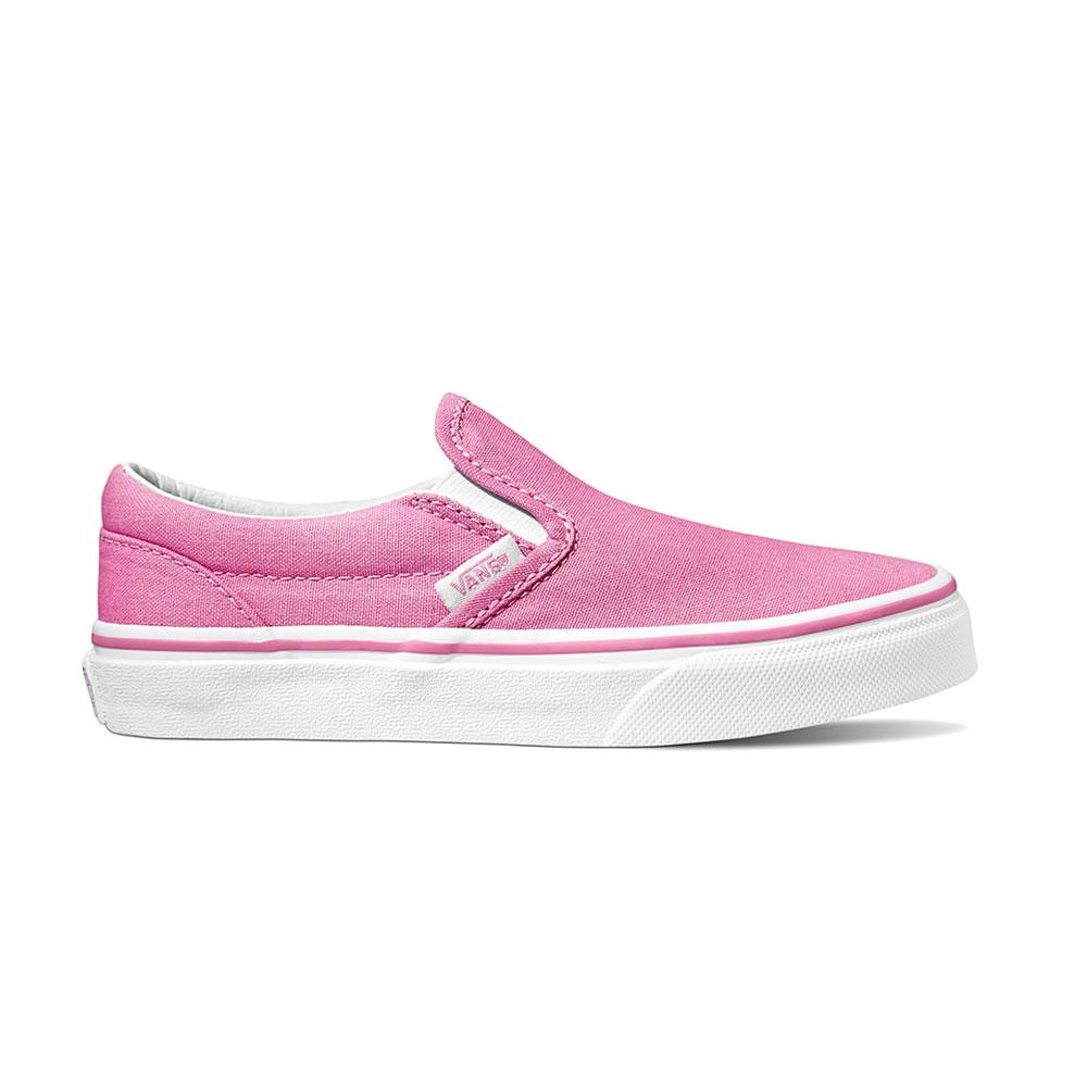 VN0A4BUTWL5 VANS - Classic Slip On Running Shoe - Fuchsia (Kids 10.5 - Youth 5) Footwear Vans