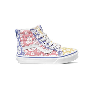VN0A4BUXWJY Vans - SK8-Hi Zip Hawaiian Floral Shoes (Sizes Kids 10.5 - Youth 5) Footwear Vans