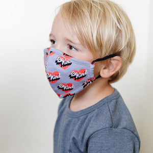 Whistle & Flute Be Kind Kids Face Mask Face Masks Whistle & Flute