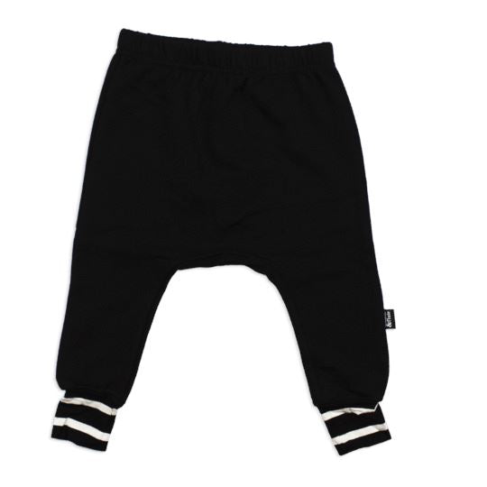 Whistle & Flute - Black Bamboo Joggers Pants Whistle & Flute