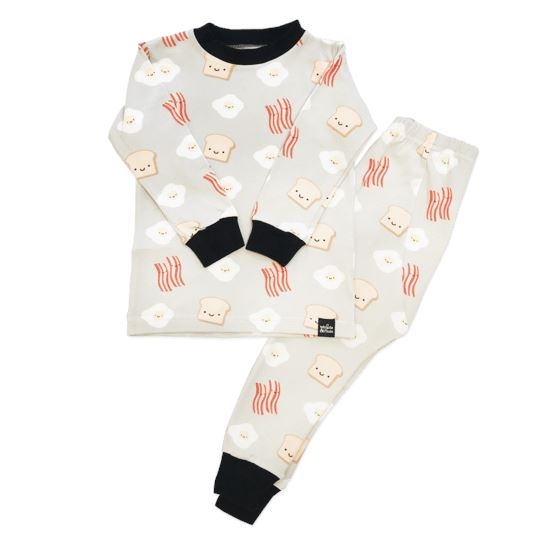 Whistle & Flute Kawaii Breakfast Pajamas Set Pajamas Whistle & Flute