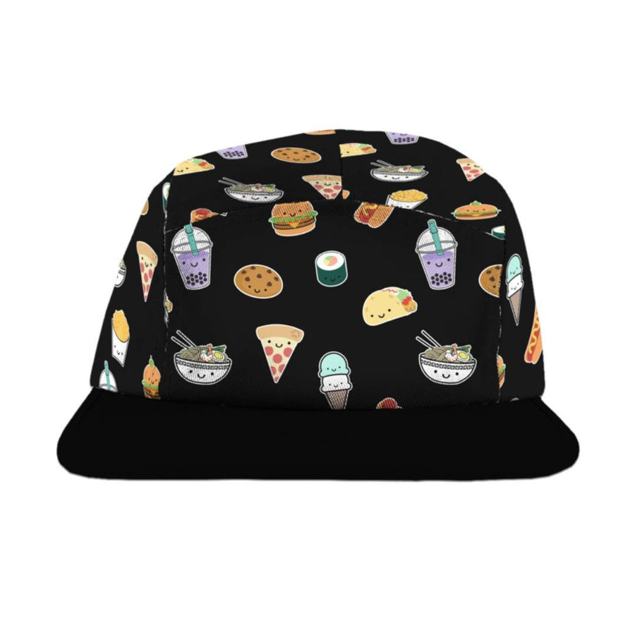 Whistle & Flute - Kawaii Food Allover Camp Cap Hats Whistle & Flute