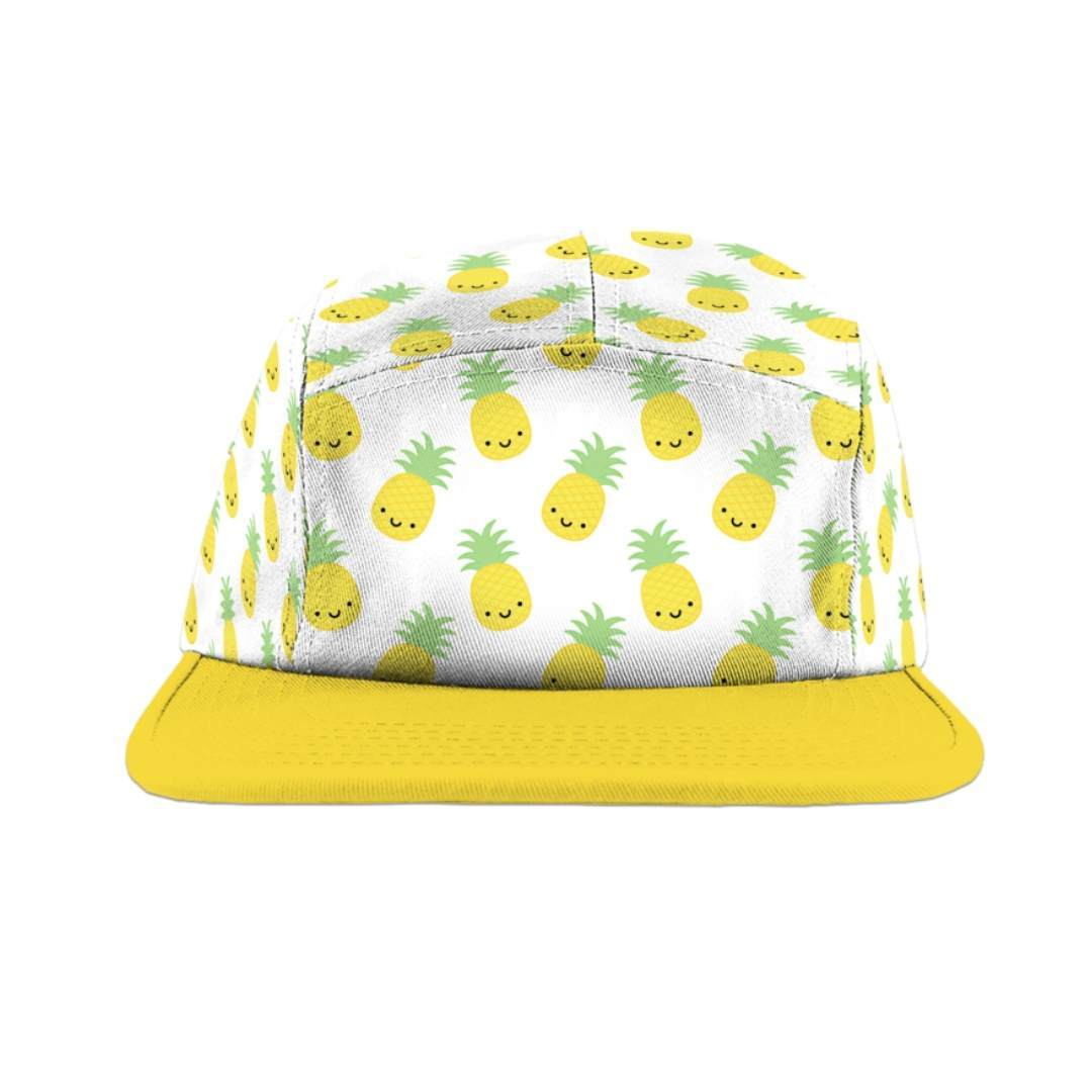 Whistle & Flute - Kawaii Pineapple Camp Cap Hats Whistle & Flute