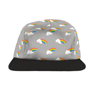 Whistle & Flute - Kawaii Rainbow Camp Cap Hats Whistle & Flute