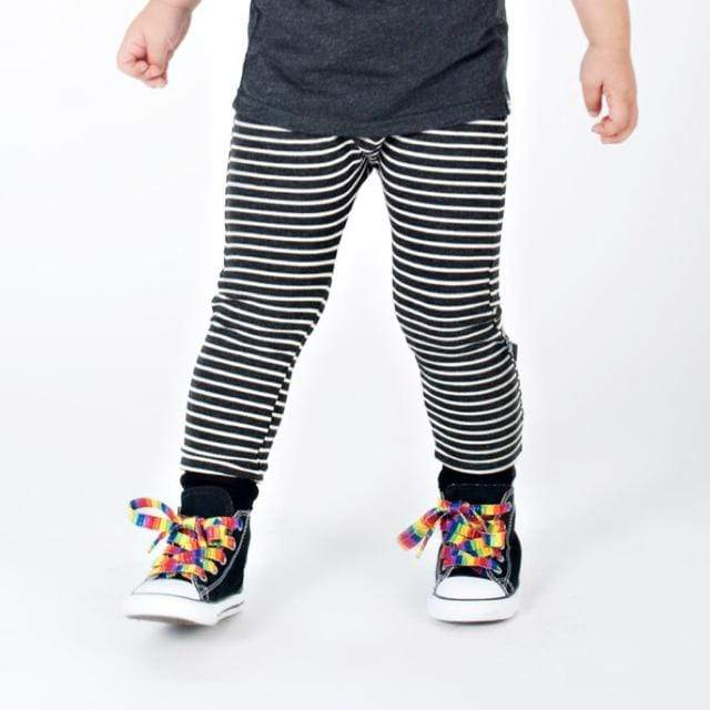 Whistle & Flute - Striped Bamboo Joggers Pants Whistle & Flute