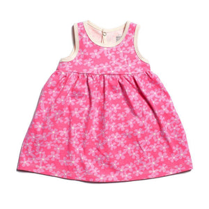 Winter Water Factory- Organic Cotton Blooming Garden Oslo Dress (3Months) Dress Winter Water Factory