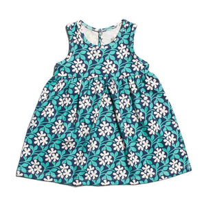 Winter Water Factory- Organic Cotton Wildflower Meadow Oslo Dress (3 Months) Dress Winter Water Factory