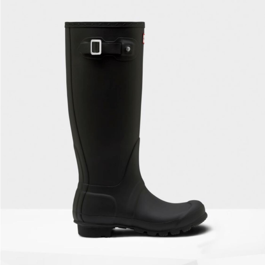 Women's Black Original Tall Hunter Rainboots Rain Boots Hunter