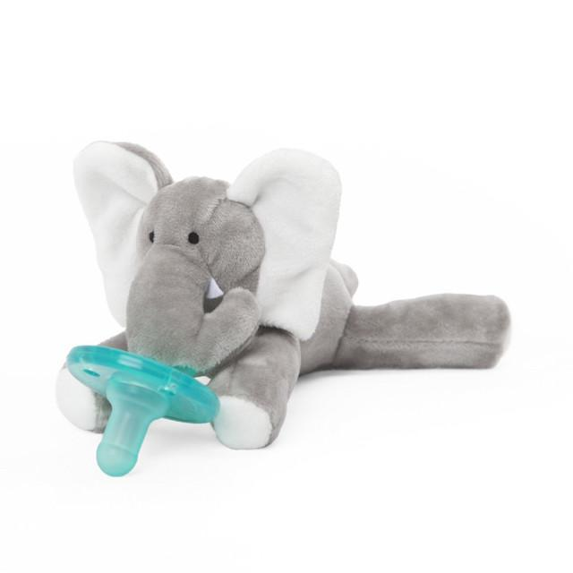 WubbaNub Classic Collection - Infant Pacifier Elephant Pacifier WubbaNub