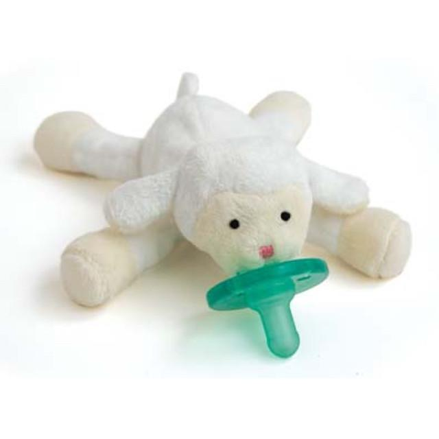 WubbaNub Classic Collection - Infant Pacifier Little Lamb Pacifier WubbaNub