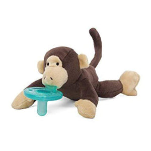 WubbaNub Classic Collection - Infant Pacifier Monkey Pacifier WubbaNub
