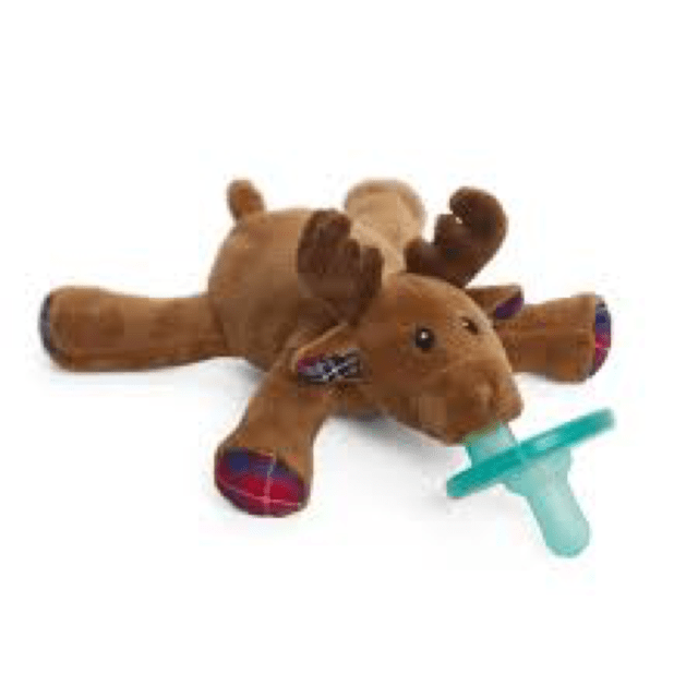 WubbaNub Specialty Collection - Infant Pacifier Limited Edition Reindeer Pacifier WubbaNub