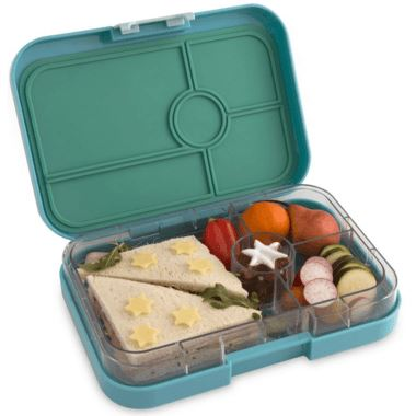 Yumbox 4 Compartment Tapas - Antibes Blue Feeding & Mealtime Yumbox