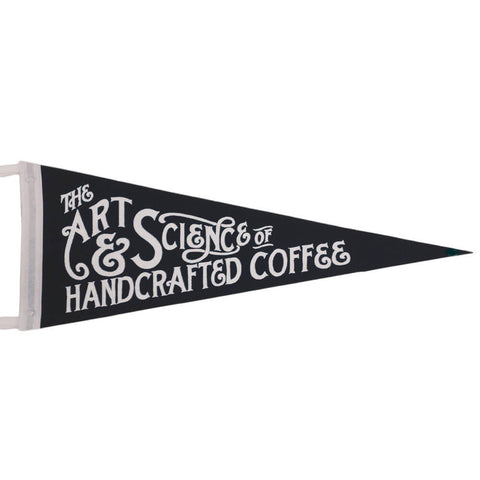 The Art & Science of Handcrafted Coffee - Vimpel fra Department of Brewology - Kaffeteriet