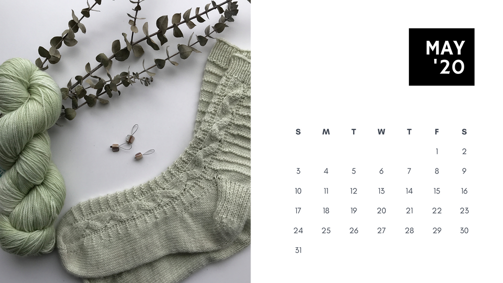 Free Downloadable Calendar: May 2020