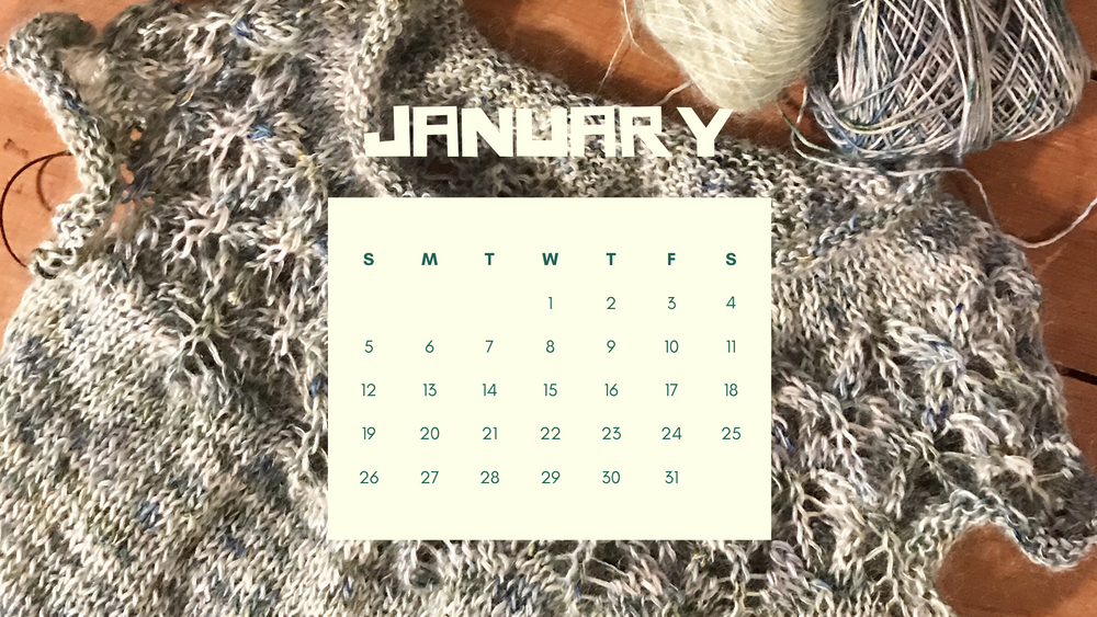 Free Downloadable Calendar - January 2020