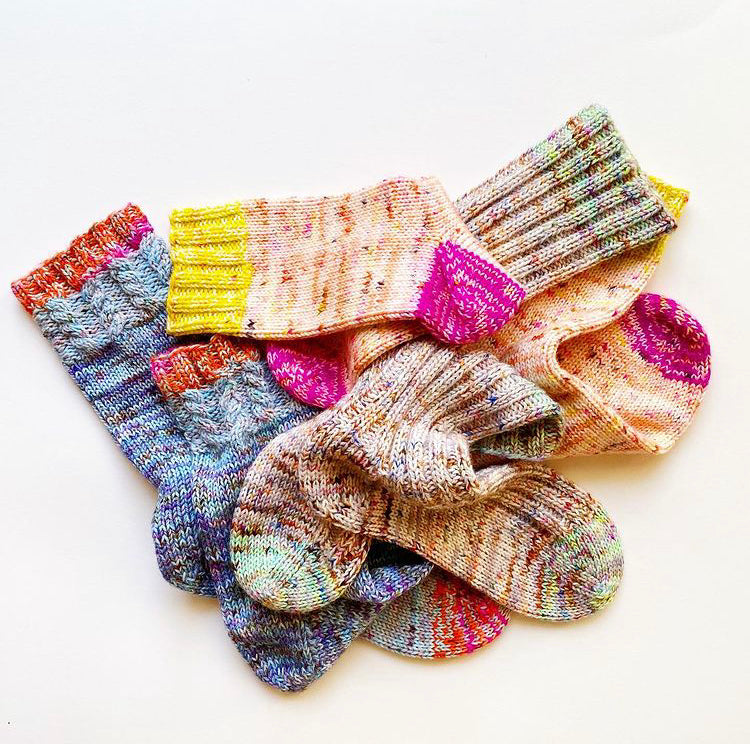 Winter Sock KAL - Thicksgiving Socks by Summer Lee Knits