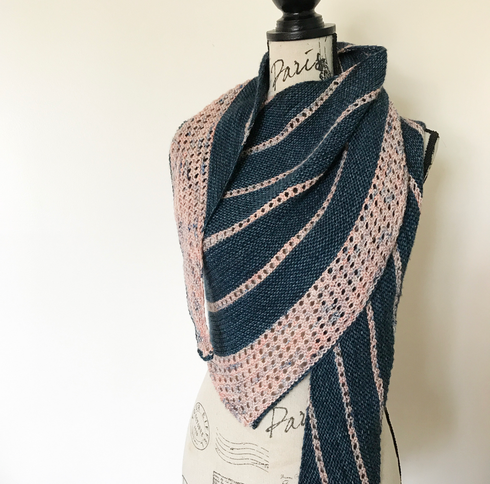 ** New Pattern Alert ** Essence Shawl
