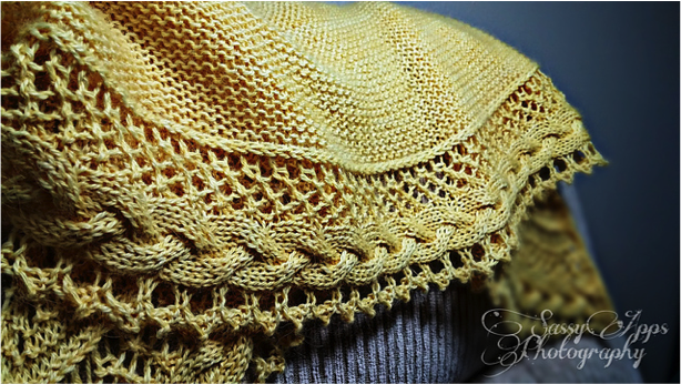 Winter Shawl KAL - Guest Post