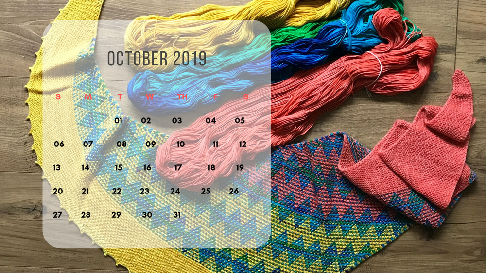Free Downloadable Calendar - October 2019
