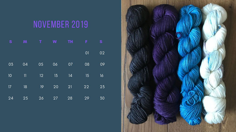 Free Downloadable Calendar - November 2019