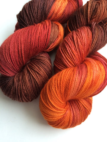 Muchier Muchness on Comfort Sock - January 2016 Club Colourway