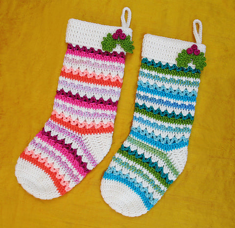 http://www.ravelry.com/patterns/library/fabulously-festive-christmas-stockings
