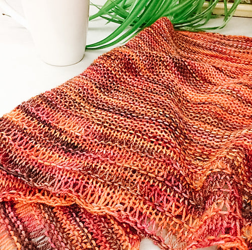 Descent Shawl // PDF Knitting Pattern