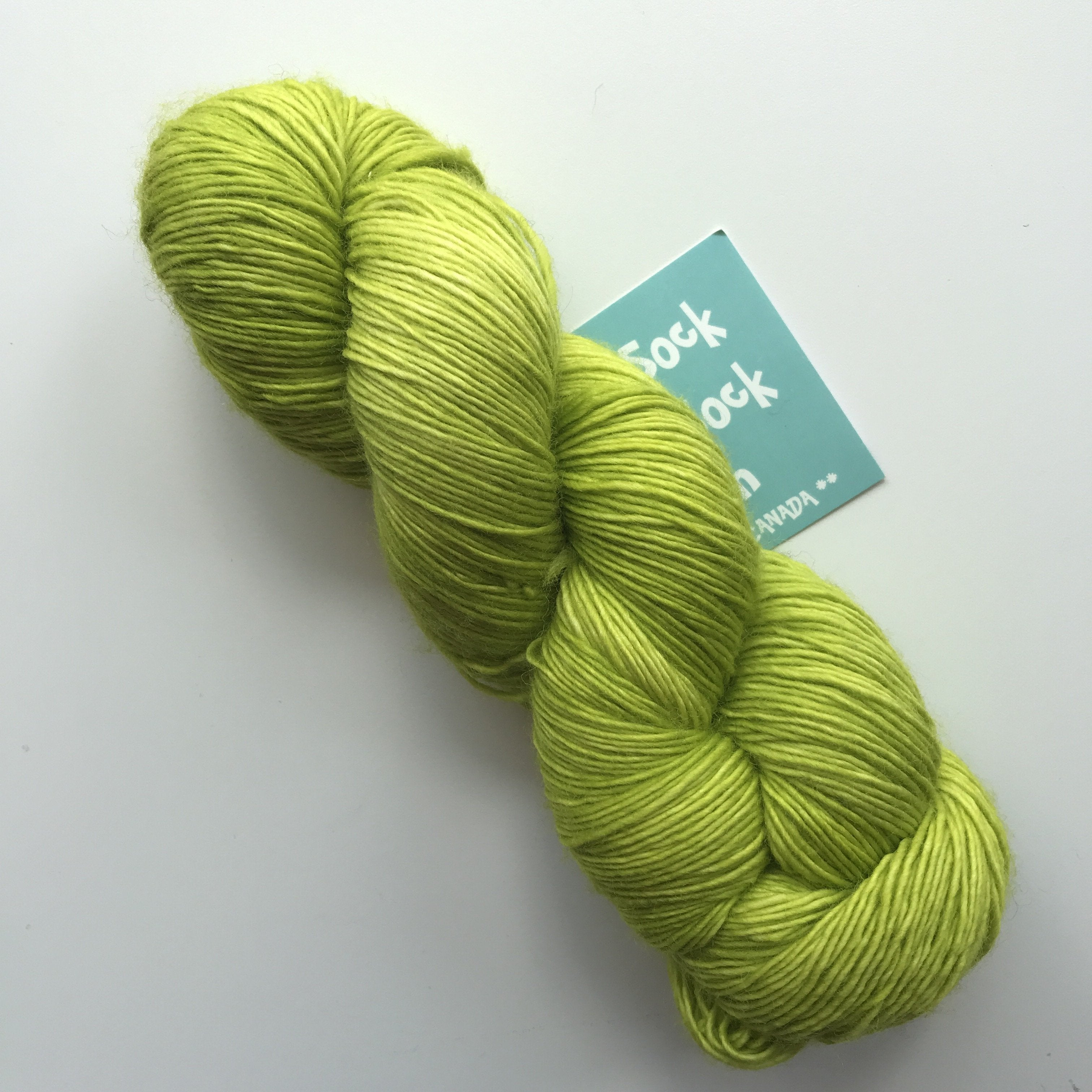 Chartreuse - Singleton - Red Sock Blue Sock Yarn Co