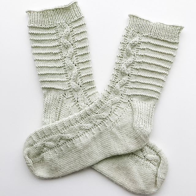 Journey Socks // PDF Knitting Pattern