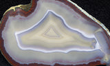 Brazilian Agate Polished Rock slab 06