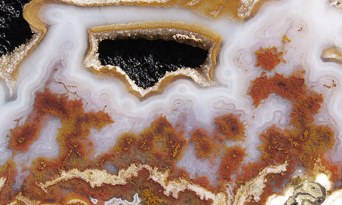 Cathedral Agate Rock Slab 20