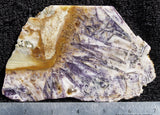 Sagenitic Fluorite Rock Slab 11
