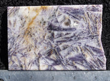 Sagenitic Fluorite Rock Slab 13