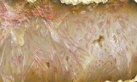 Pink Sagenite Rock Slab 06