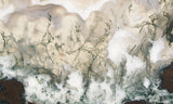 Green Moss Agate Rock Slab 014