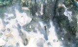 Green Moss Agate Rock Slab 09
