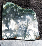 Green Moss Agate Rock Slab 011