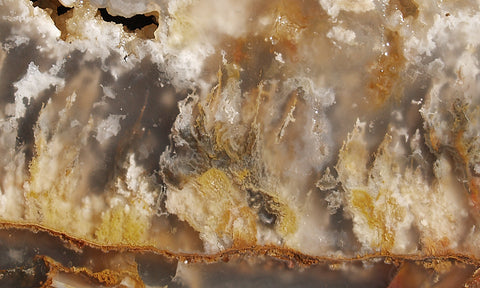 North Ridge Plume Agate Rock Slab 07