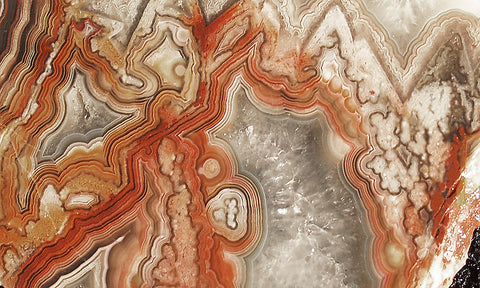 Laguna Lace Agate Rock slab 29