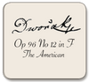 Dvorak: String Quartet No. 12 in F, The American, Op. 96